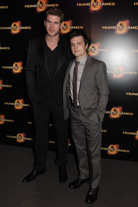 Hunger Games : Photo Josh Hutcherson, Liam Hemsworth