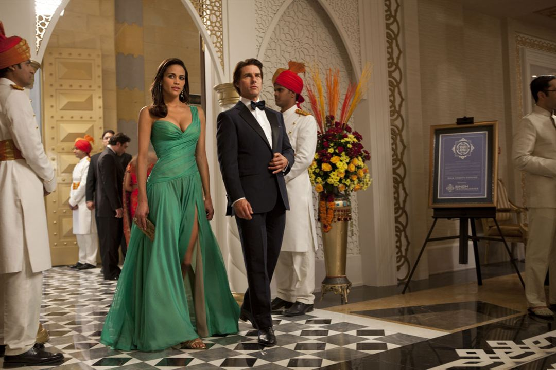 Mission : Impossible - Protocole fantôme : Photo Paula Patton, Tom Cruise