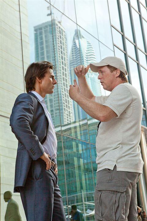 Mission : Impossible - Protocole fantôme : Photo Brad Bird, Tom Cruise