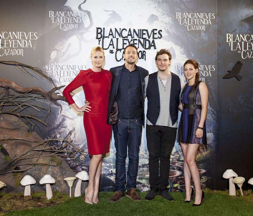 Blanche-Neige et le chasseur : Photo promotionnelle Charlize Theron, Kristen Stewart, Rupert Sanders, Sam Claflin