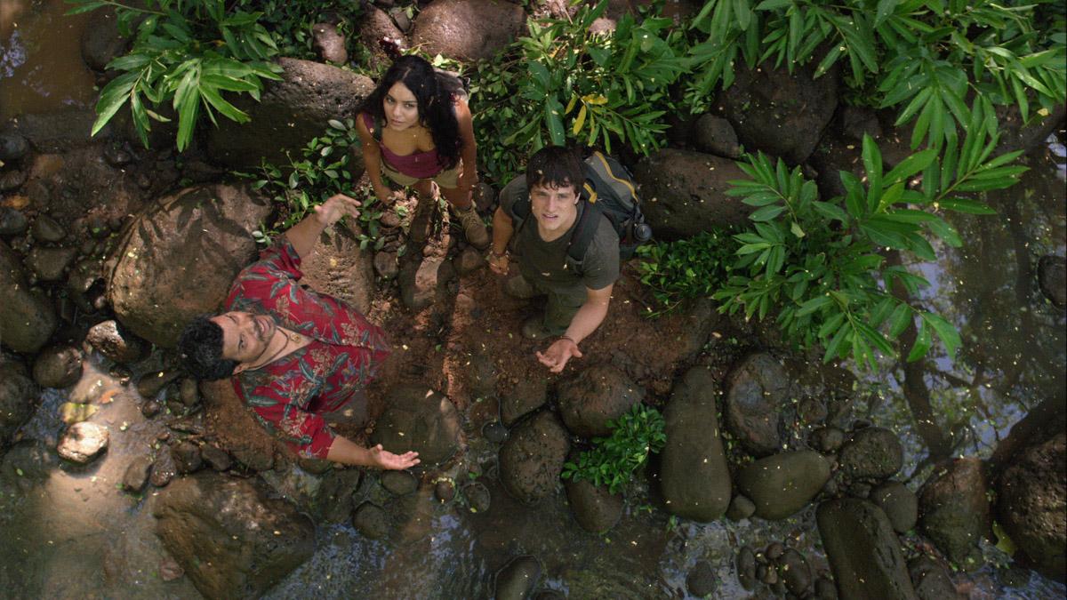 Voyage au centre de la Terre 2 : L'île mystérieuse : Photo Brad Peyton, Josh Hutcherson, Luis Guzman, Vanessa Hudgens