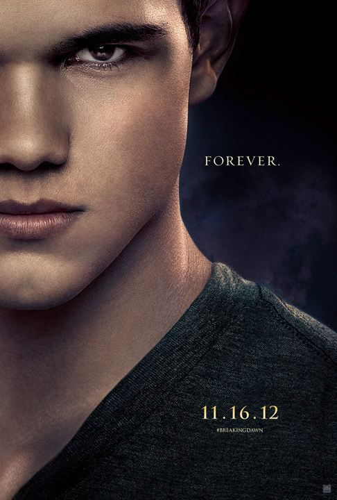 Twilight - Chapitre 5 : Révélation 2e partie : Affiche Bill Condon, Stephenie Meyer, Taylor Lautner