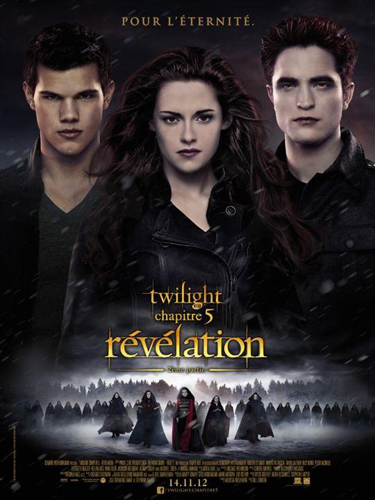 Twilight - Chapitre 5 : Révélation 2e partie : affiche