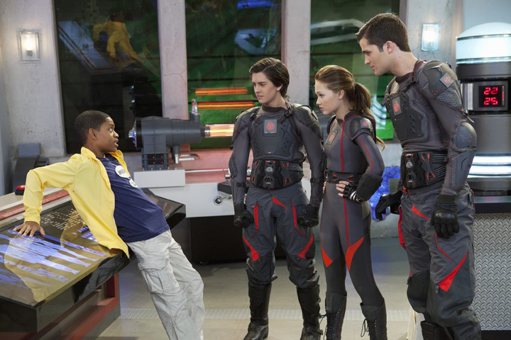 Photo Kelli Berglund, Spencer Boldman, Tyrel Jackson Williams, William Brent (II)
