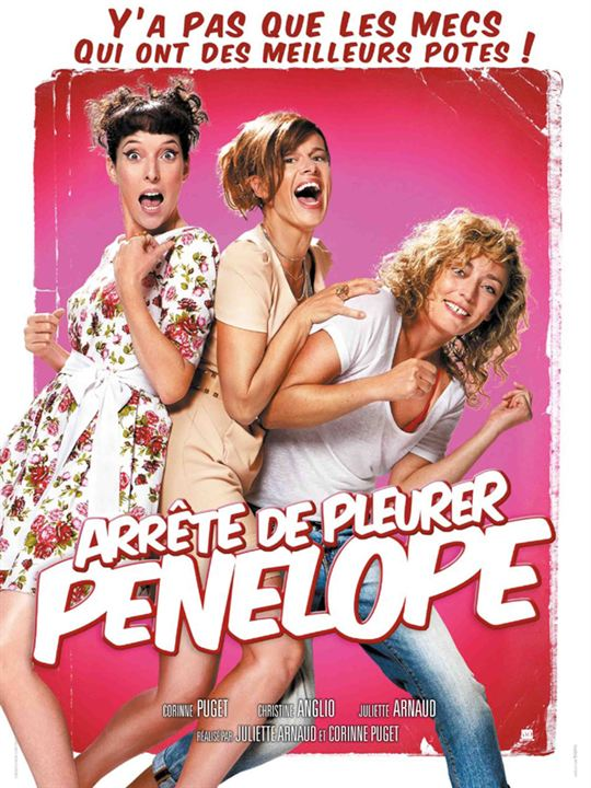 Arrête de pleurer Pénélope : affiche