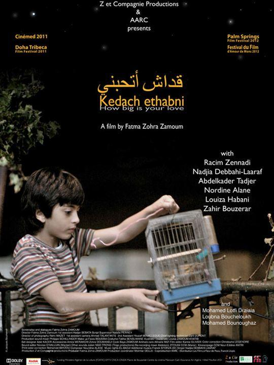 Kedach ethabni (How big is your love) : Affiche