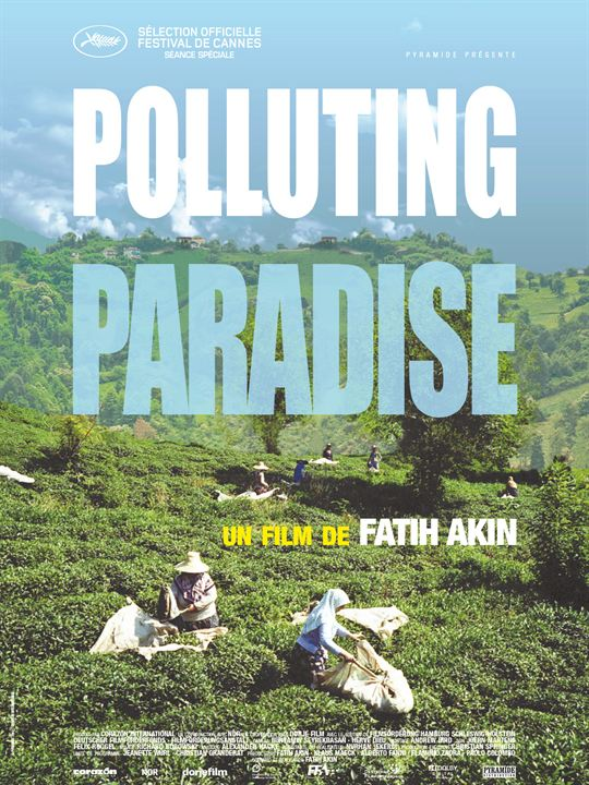 Polluting Paradise : Affiche