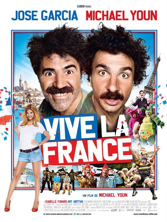 Vive la France : Affiche
