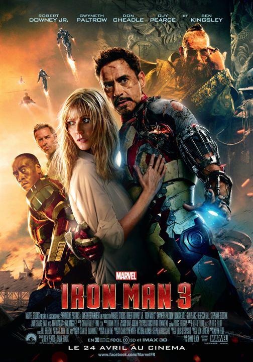 """Résultat de recherche d'images pour """"iron man 3 affiche"""""""