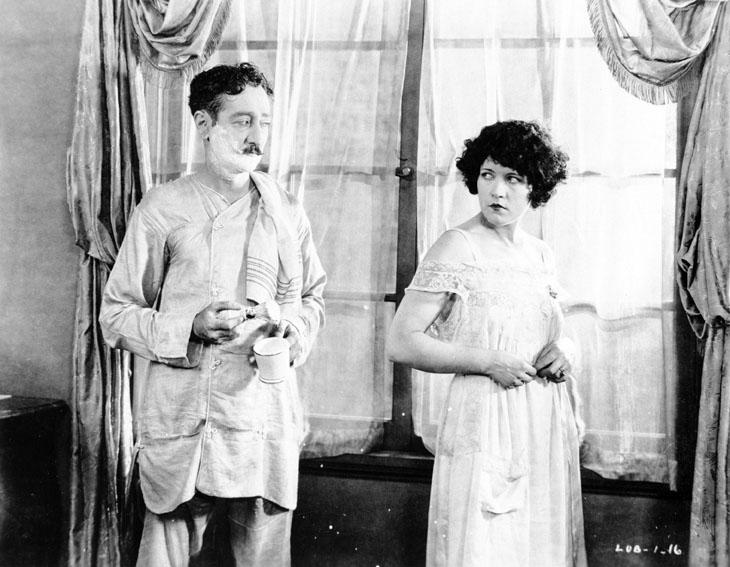 Comédiennes : Photo Adolphe Menjou, Marie Prevost