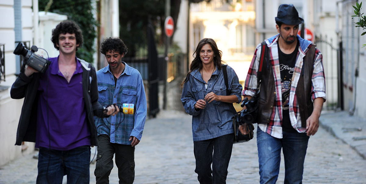 Télé Gaucho : Photo Eric Elmosnino, Félix Moati, Maïwenn