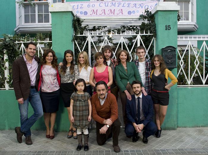 Photo Alex Batllori, Alexandra Jiménez, Chiqui Fernández, Diego Martín, Juana Acosta