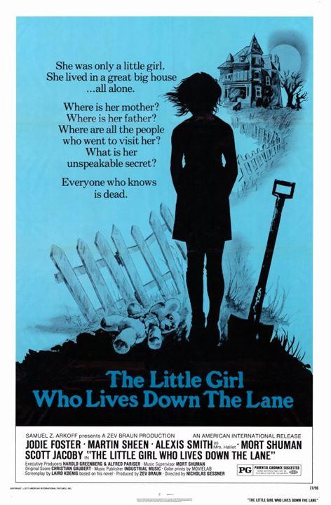 La Petite Fille au bout du chemin : Affiche