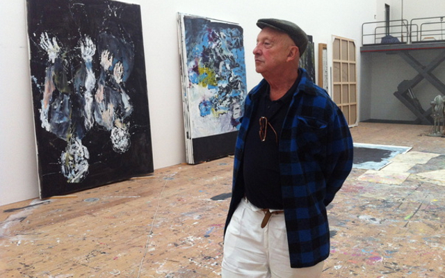 photo Georg Baselitz