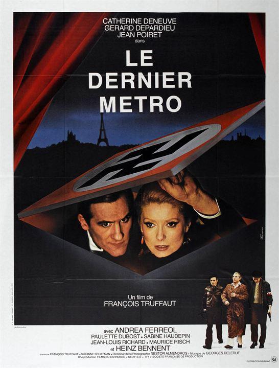 Le Dernier métro : Affiche