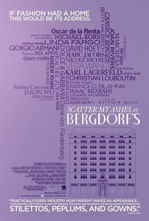 Scatter My Ashes at Bergdorf's : Affiche