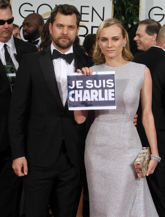 Hommage à Charlie Hebdo aux Golden Globes 2015