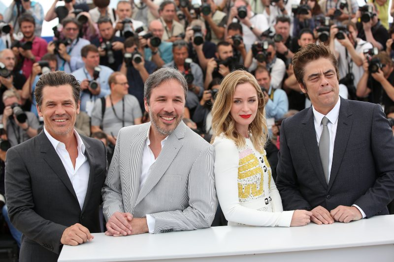 Josh Brolin, Denis Villeneuve, Emily Blunt, Benicio del Toro