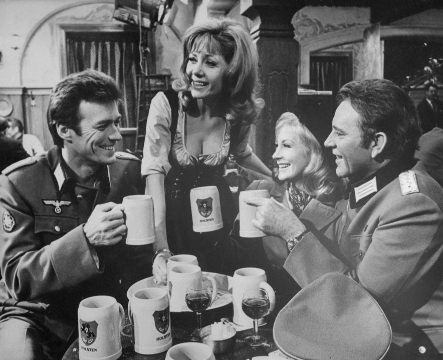"""Rires et détente sur """"Quand les aigles attaquent"""" (1971)"""