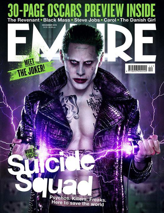 Le Suicide Squad en couverture d'Empire