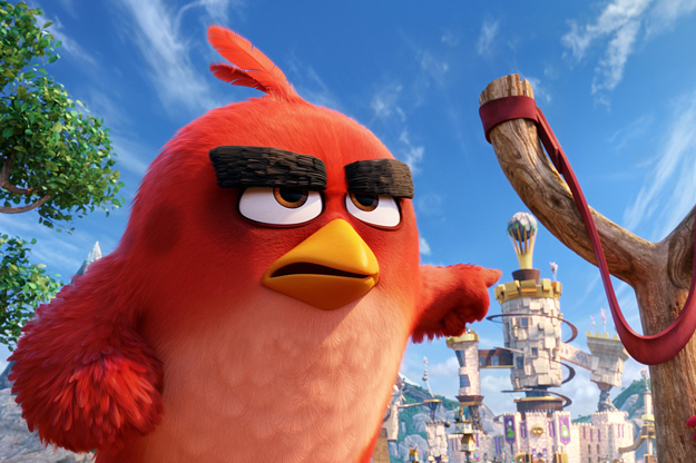 """Red dans """"Angry Birds - Le Film"""""""
