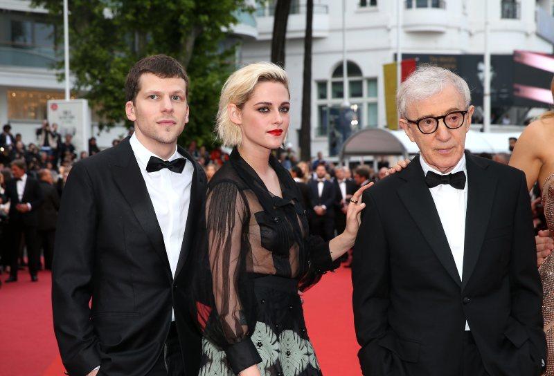 Jesse Eisenberg, Kristen Stewart & Woody Allen