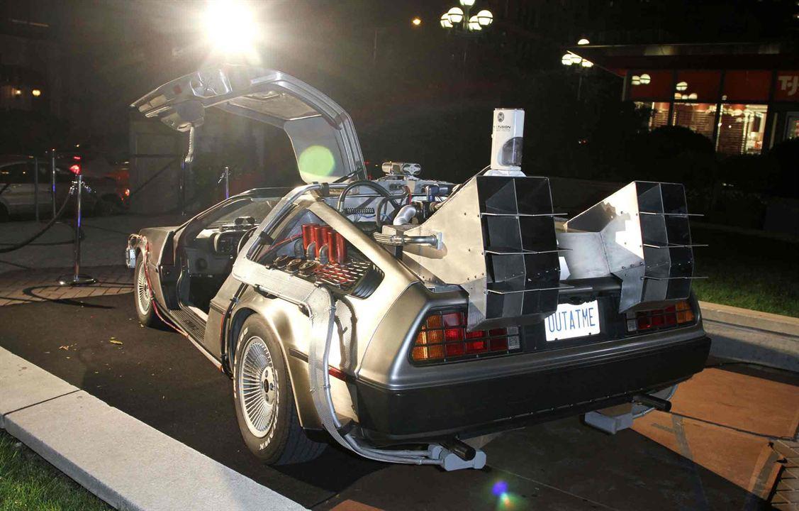 """La DeLorean de """"retour vers le futur"""""""