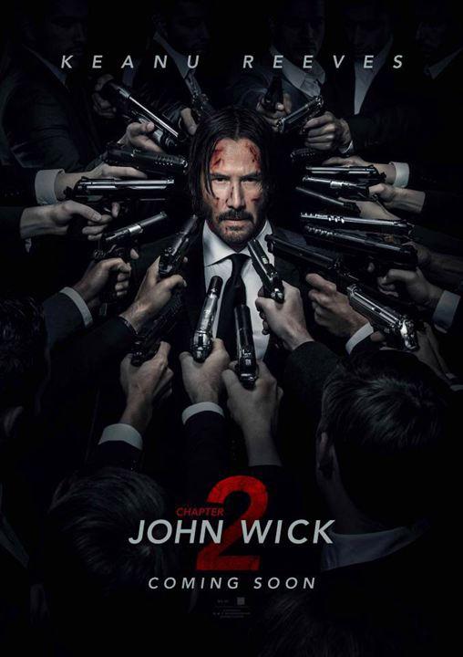 """Résultat de recherche d'images pour """"john wick 2 affiche"""""""
