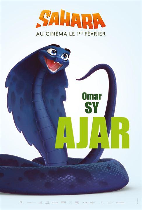 Dessin Animé Serpent sahara : les serpents omar sy et louane emera partent à l'aventure