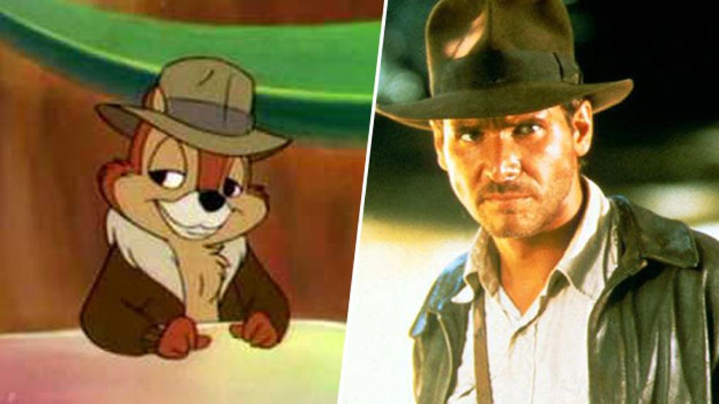 Tic, inspiré par Harrison Ford (Indiana Jones)