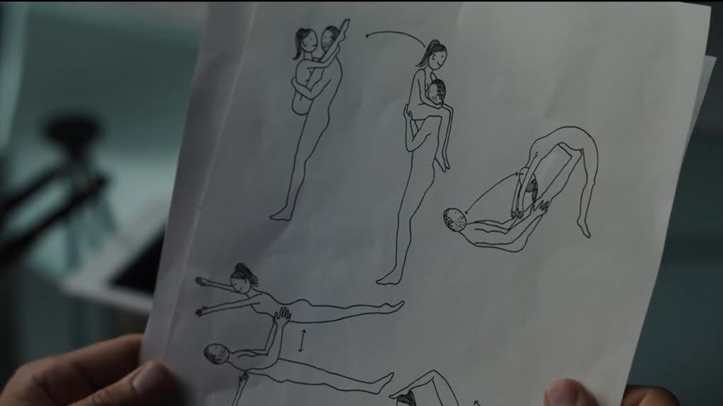 La scène d'amour acrobatique de l'année : Le Secret des Banquises