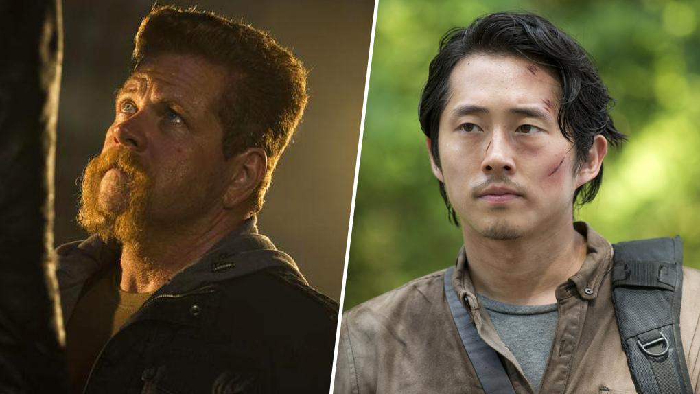 Abraham et Glenn - The Walking Dead