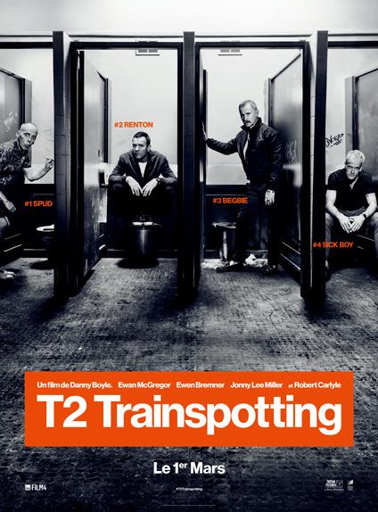T2 Trainspotting avec Ewan McGregor - Sortie le 1 mars 2017