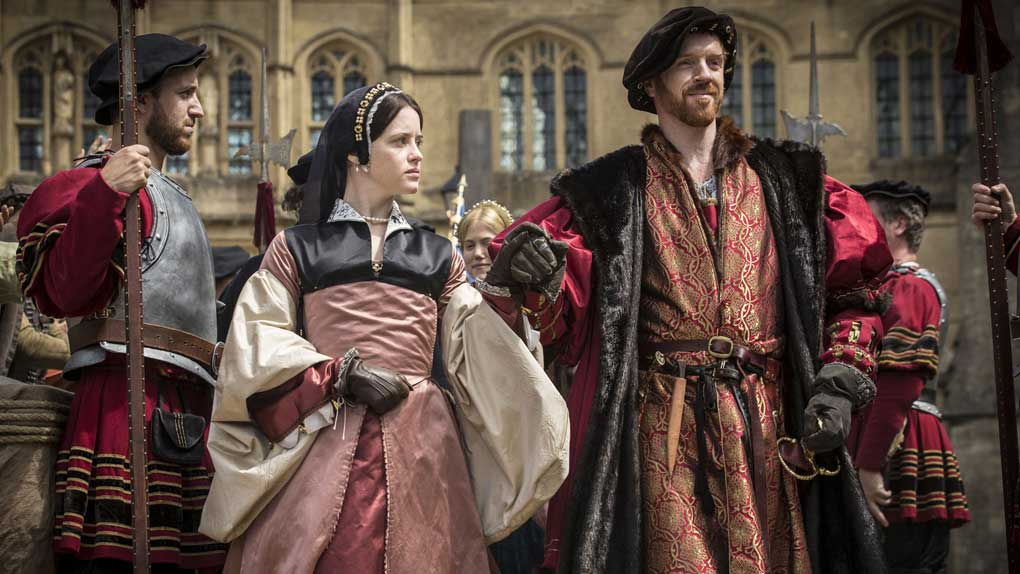 Claire Foy et Damian Lewis (Wolf Hall)