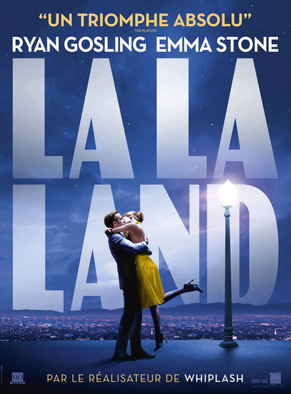 La La Land arrive en tête des nominations avec 11 citations