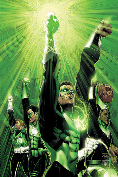 Les super-héros de David S. Goyer : Green Lantern