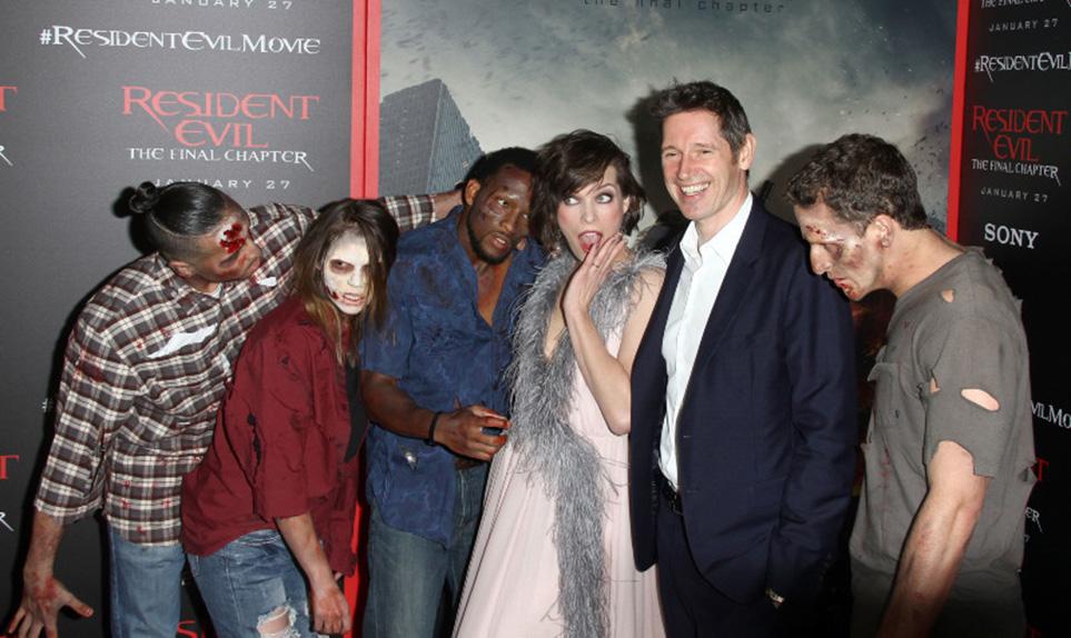 Wallpaper Milla Jovovich Ali Larter Ruby Rose Resident: Resident Evil : Milla Jovovich, Ali Larter, Ruby Rose Et
