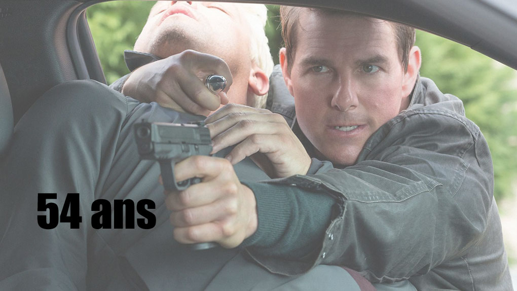"""Tom Cruise dans """"Jack Reacher : Never Go Back"""""""