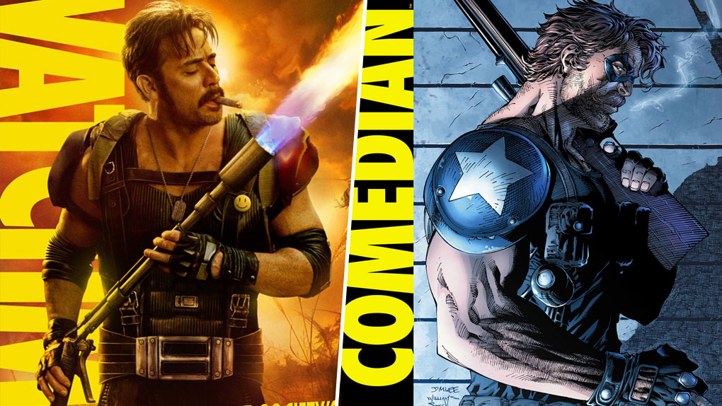 """Le Comédien - """"Watchmen"""" (2009)"""