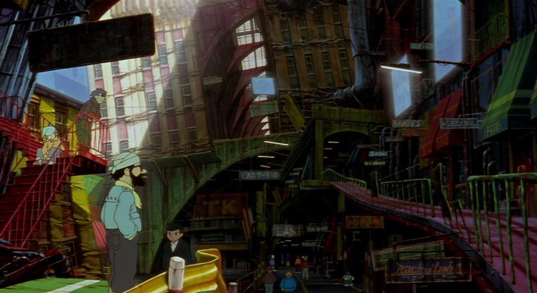"""""""Metropolis"""" de Rintaro (2001)"""