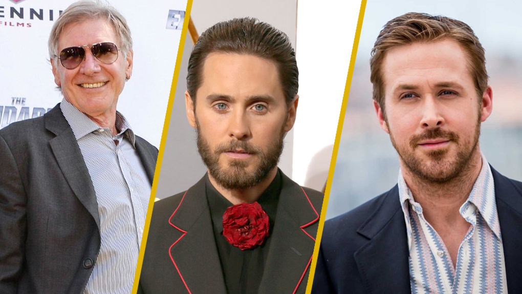 Harrison Ford, Jared Leto & Ryan Gosling