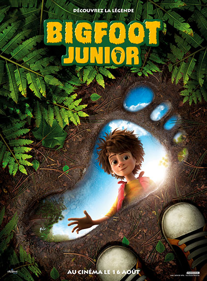 """""""Bigfoot Junior"""" de Ben Stassen et Jérémie Degruson"""