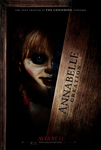 """Annabelle 2 : la Création du Mal"" avec Miranda Otto, Anthony LaPaglia, Stephanie Sigman ..."