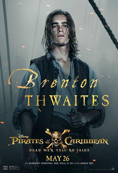 """Pirates des Caraïbes : La Vengeance de Salazar"" avec Johnny Depp, Javier Bardem, Brenton Thwaites ..."