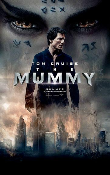 """La Momie"" avec Tom Cruise, Sofia Boutella, Annabelle Wallis ..."