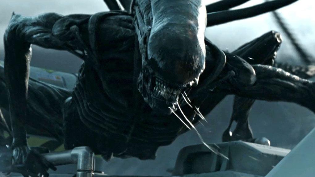 Le xénomorphe dans Alien