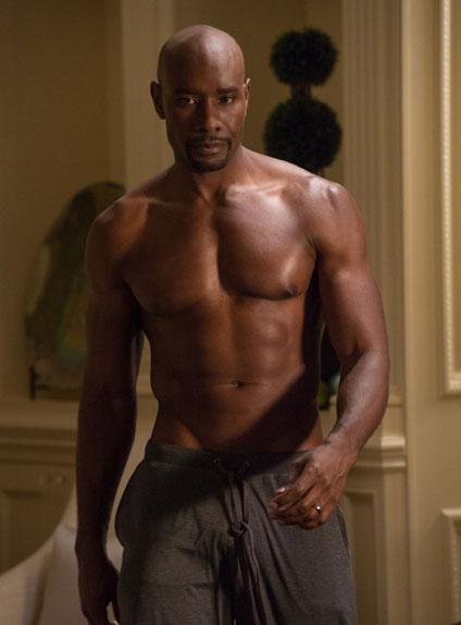 """Le corps d'athlète de l'acteur a souvent fait parler de lui, comme dans le film """"Le Mariage de l'année, 10 ans après""""."""