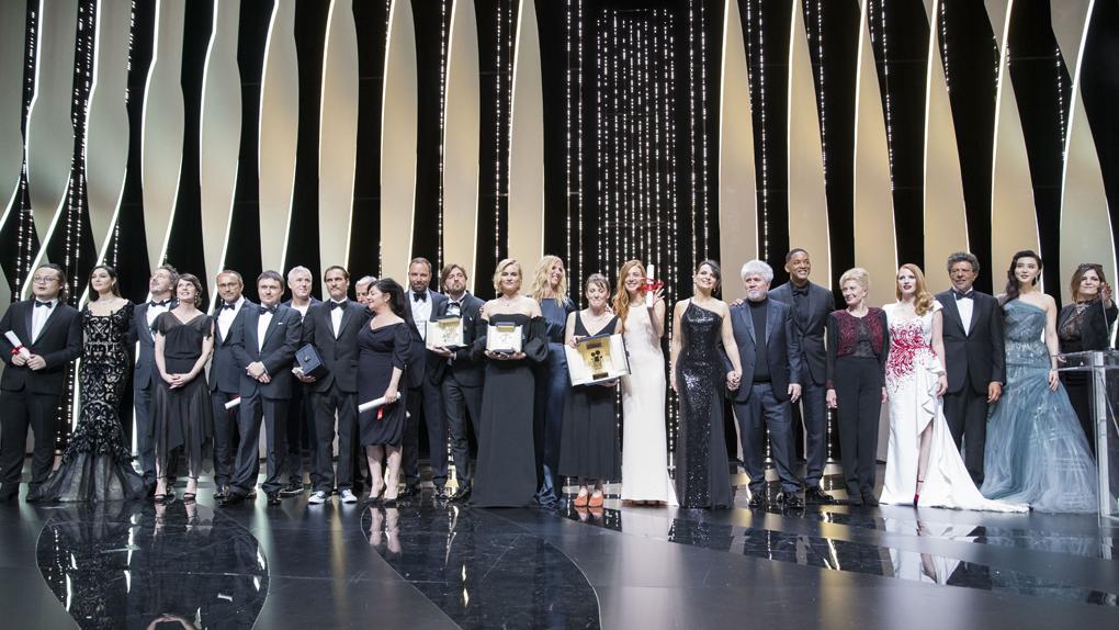Photo de groupe des lauréats