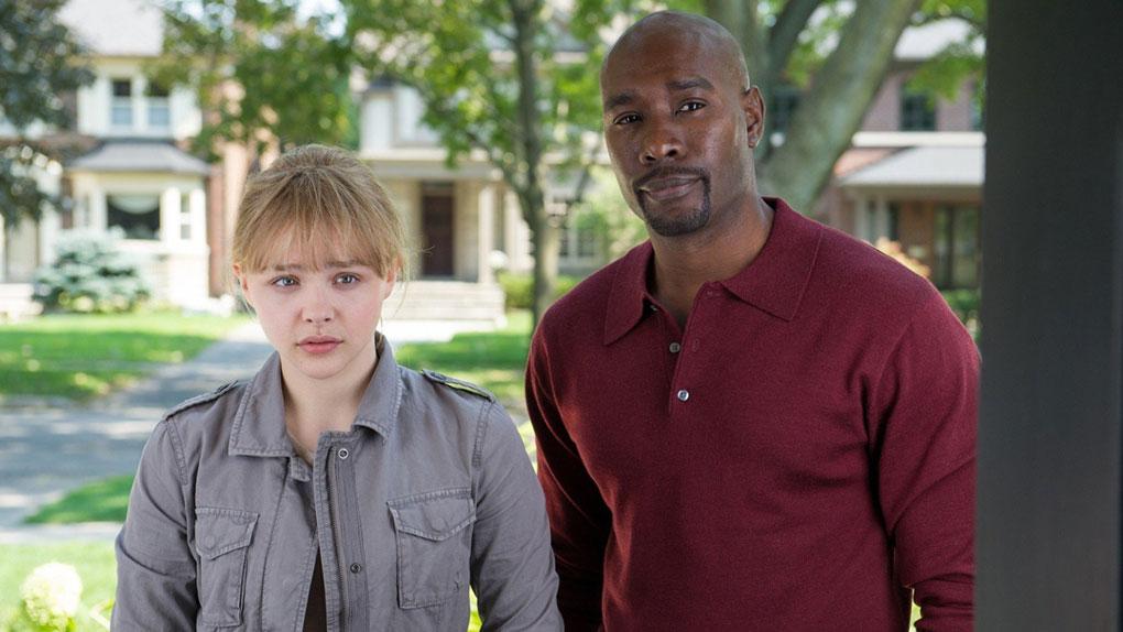 """Morris Chestnut interprète Marcus Williams, personnage spécialement créé pour le film """"Kick-Ass 2""""."""