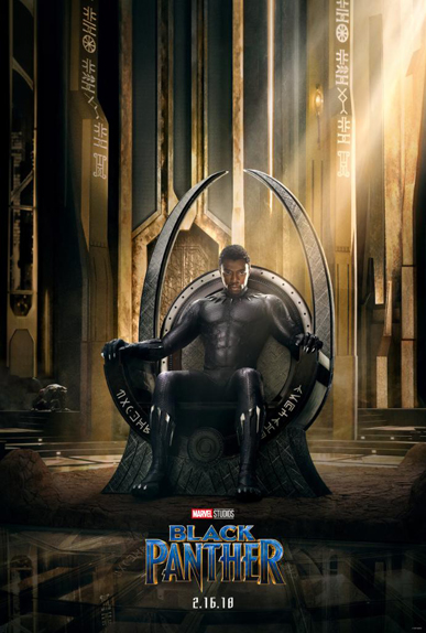 La 1ère affiche de Black Panther